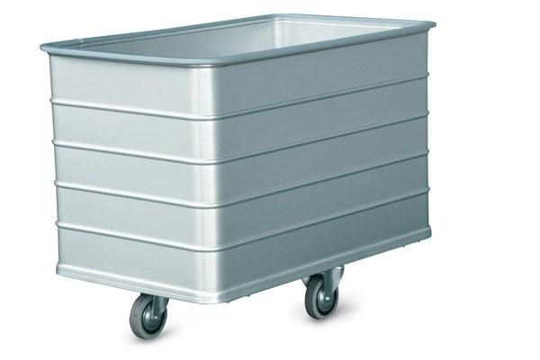 201N/50 Wäschecontainer mit ungelochten Wänden