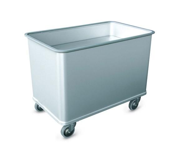 202/70 Wäschecontainer als Federbodenwagen