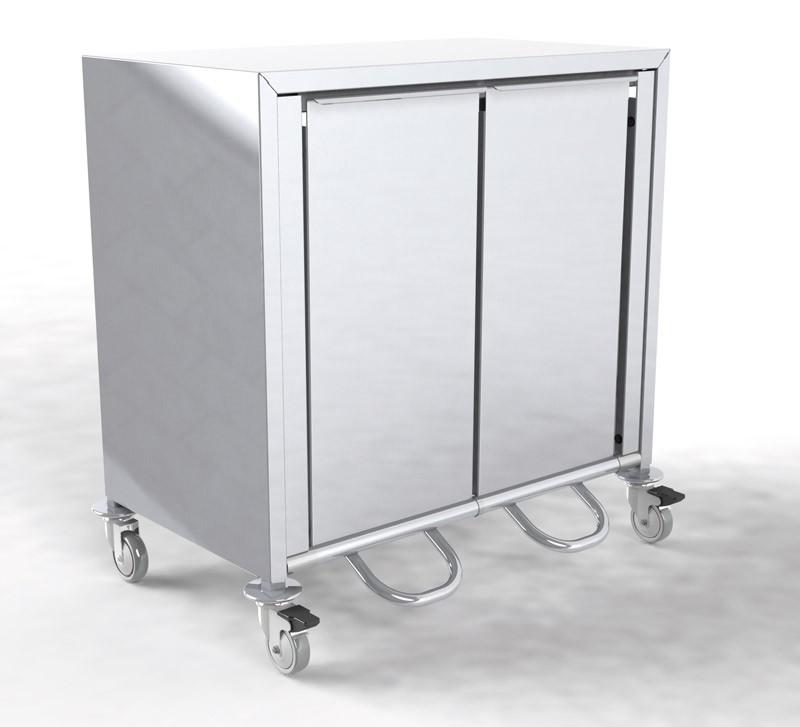 370.2 Müll- und Wertstoffsammler mit 2 Abwurfbehältern