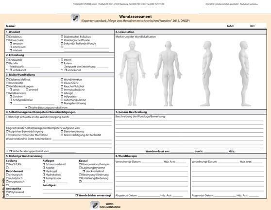 87.050 Wunddokumentation Seite 1