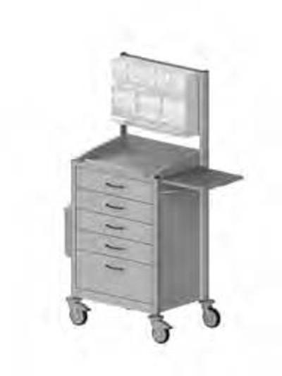 keo® ISO-Modul Verband- und Behandlungswagen 8