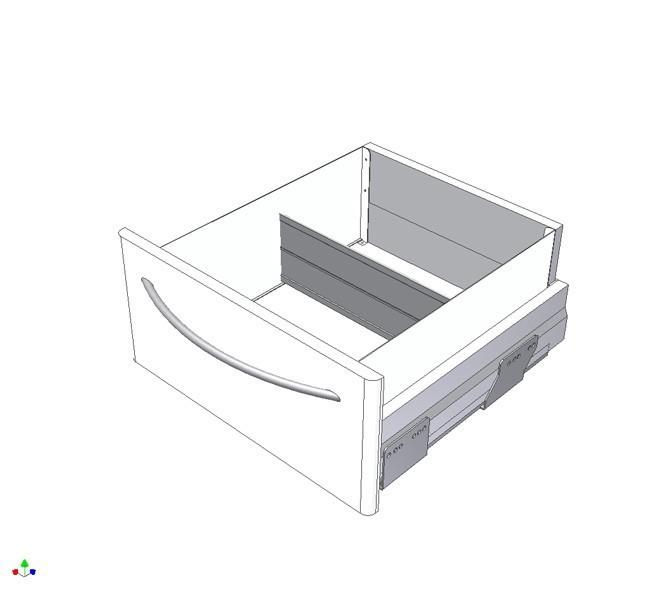 M10 Schubladenteiler quer