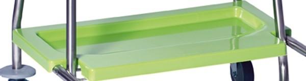 S-WASTY-V Kunststoffbodenplatte