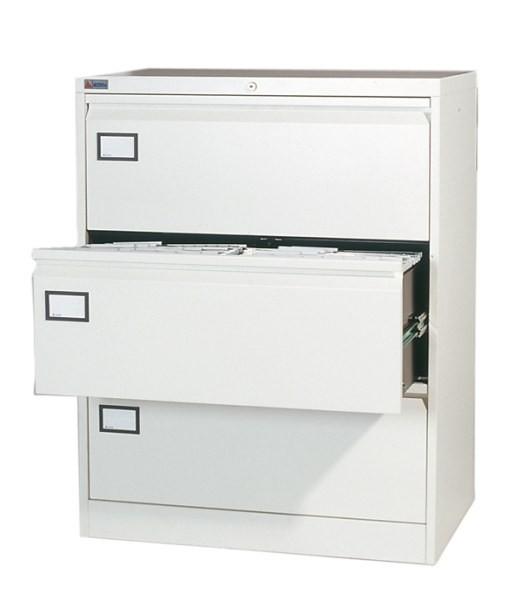 SF1007 Hängeregisterschrank für DIN A4 Doppelbreite