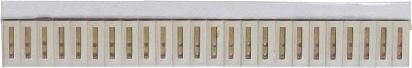 SIG-24 Signalleiste mit 24 Signalen, einfarbig