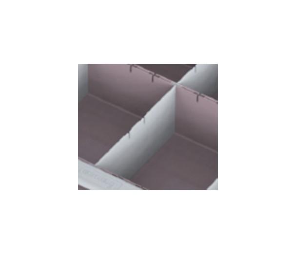 Teiler für Schubladeneinsatz, Mod. V6-2M