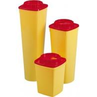 Abwurfbehälter mit rundem Deckel, 2 l