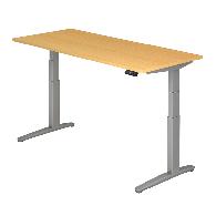 Steh-Sitz-Tisch XBHM-Serie 180 x 80 cm