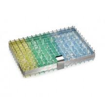 Edelstahlgitterbox zur Reinigung von Medikamentenbechern