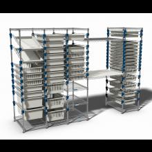 MOSYS-ISO modulares Regalsystem