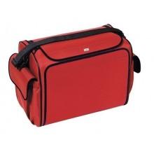 Arzttasche aus Polymousse in rot