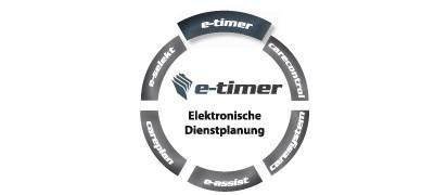 Pflegesoftware E-Timer