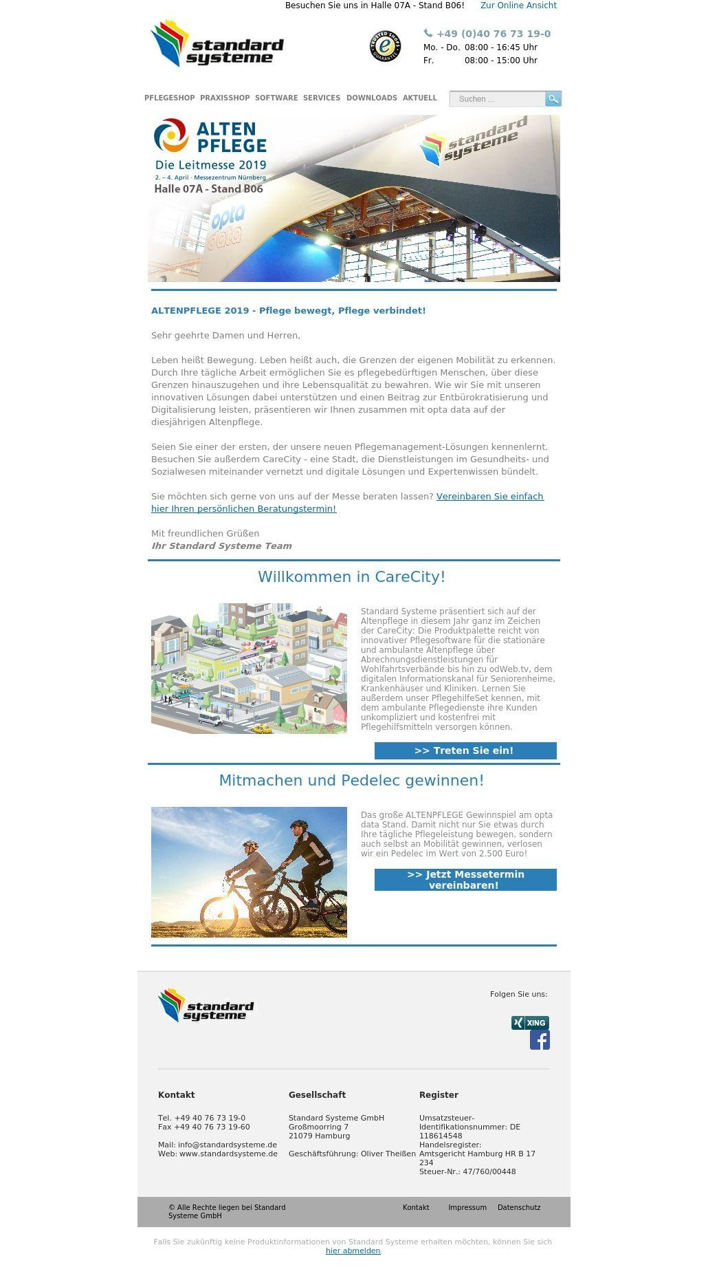 Mobile Pflege - Messe-News 03/19
