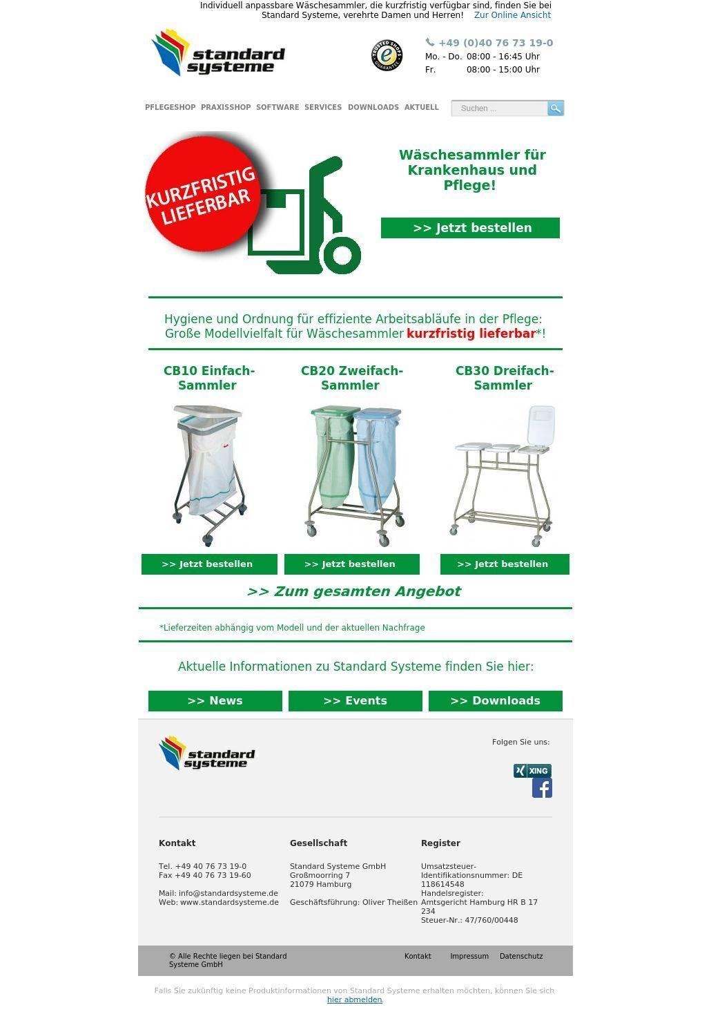 Krankenhaus - Produkt-News 11/20