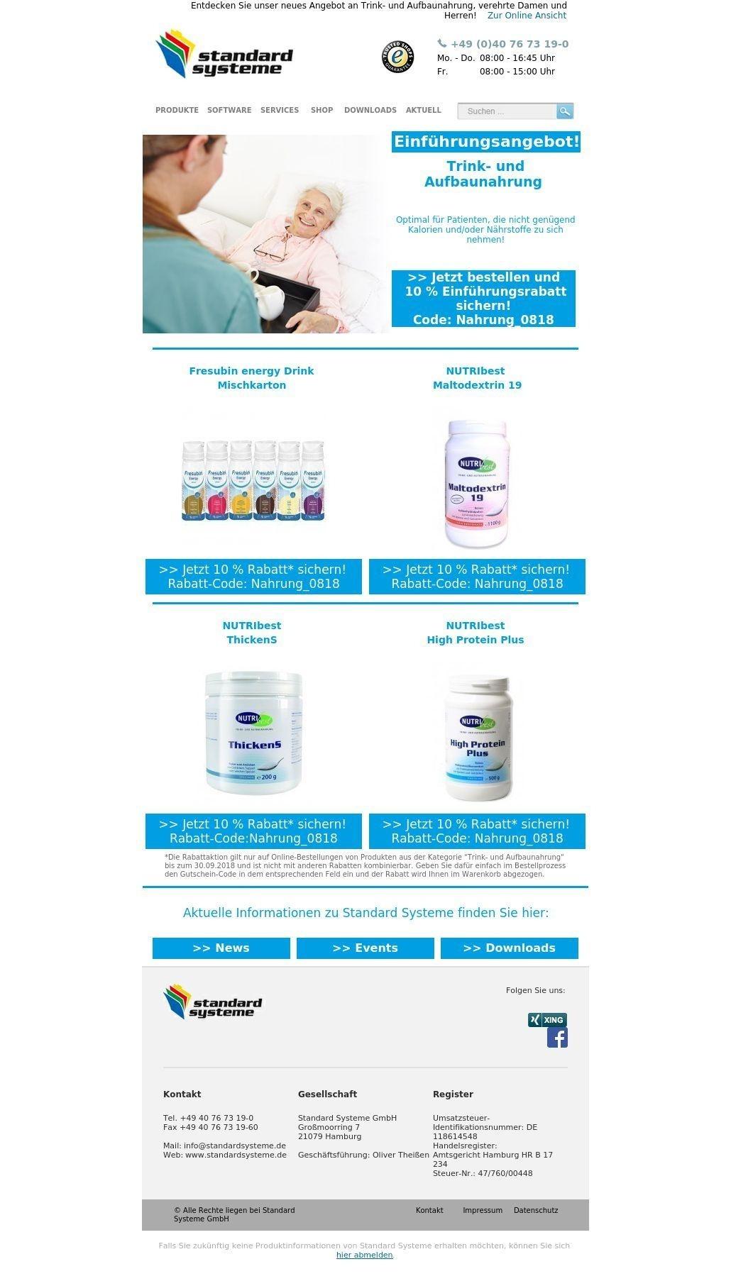 Mobile Pflege - Produkt-News 08/18