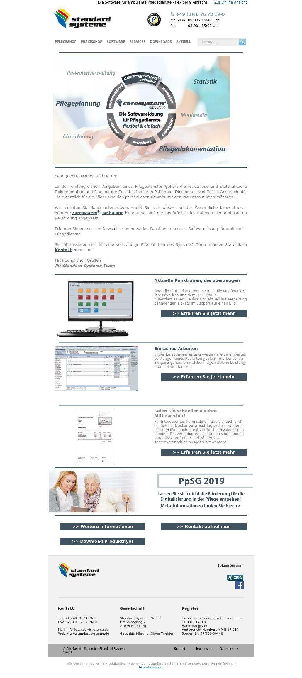 Mobile Pflege - Software-News 01/19