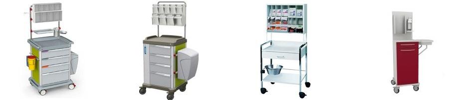 Pflegewagen Modelle bei Standardsysteme