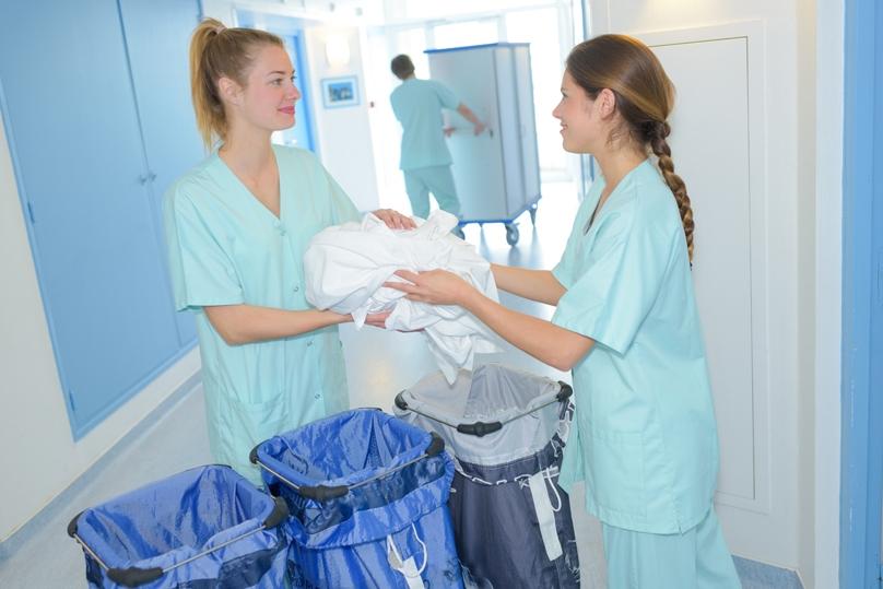 2 Fach Wäschesammler