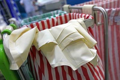 Wäschesammler in der Pflege